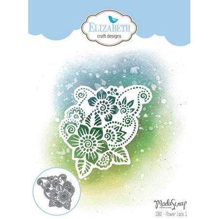 Elizabeth Craft Designs - Dies - Flower Lace 1