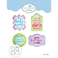 Elizabeth Craft Designs - Dies - Labels 1