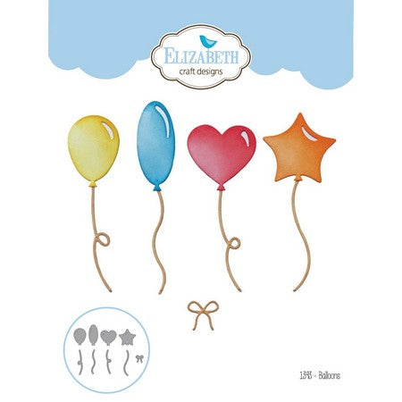 Elizabeth Craft Designs - Dies - Balloons