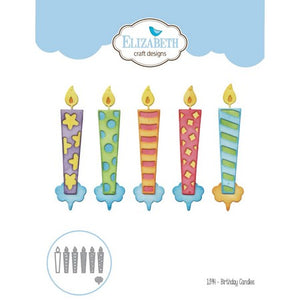 Elizabeth Craft Designs - Dies - Birthday Candles