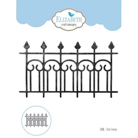 Elizabeth Craft Designs - Dies - Iron Fence