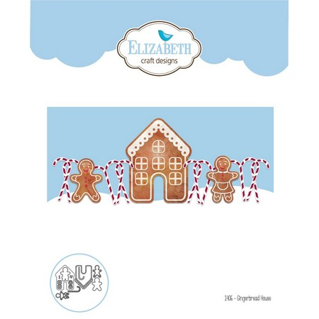 Elizabeth Craft Designs - Dies - Gingerbread Home