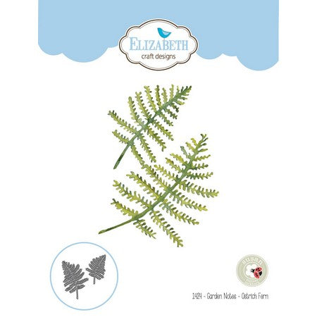 Elizabeth Craft Designs - Dies - Ostrich Fern