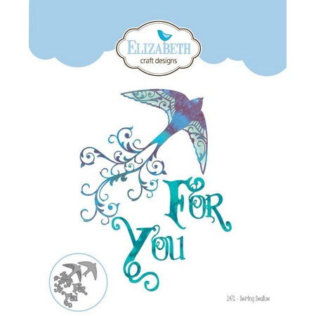 Elizabeth Craft Designs - Dies - Swirling Swallow