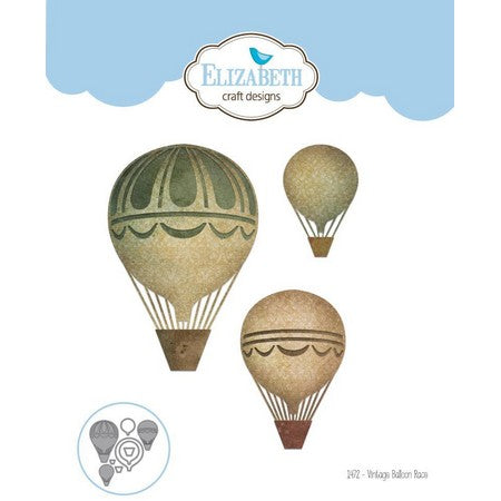 Elizabeth Craft Designs - Dies - Vintage Balloon Race