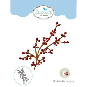 Elizabeth Craft Designs - Dies - Berry Spray