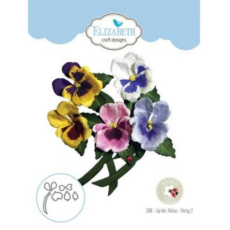 Elizabeth Craft Designs - Dies - Pansy 2