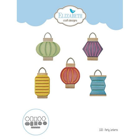 Elizabeth Craft Designs - Dies - Party Lanterns