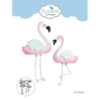 Flamingos - Elizabeth Craft Designs