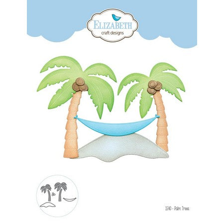Elizabeth Craft Designs - Dies - Palm Trees