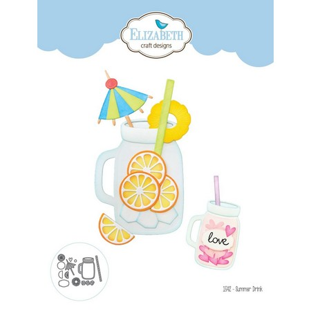 Elizabeth Craft Designs - Dies - Summer Drink
