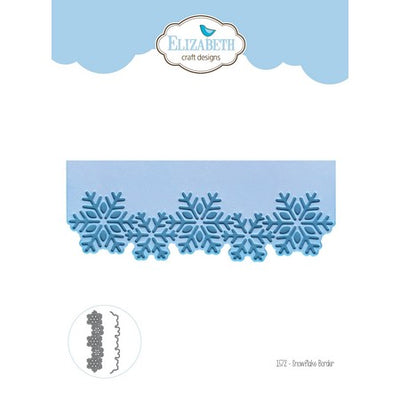 Elizabeth Craft Design - Dies - Snowflake Border