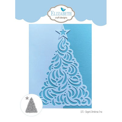 Elizabeth Craft Design - Dies - Elegant Christmas Tree