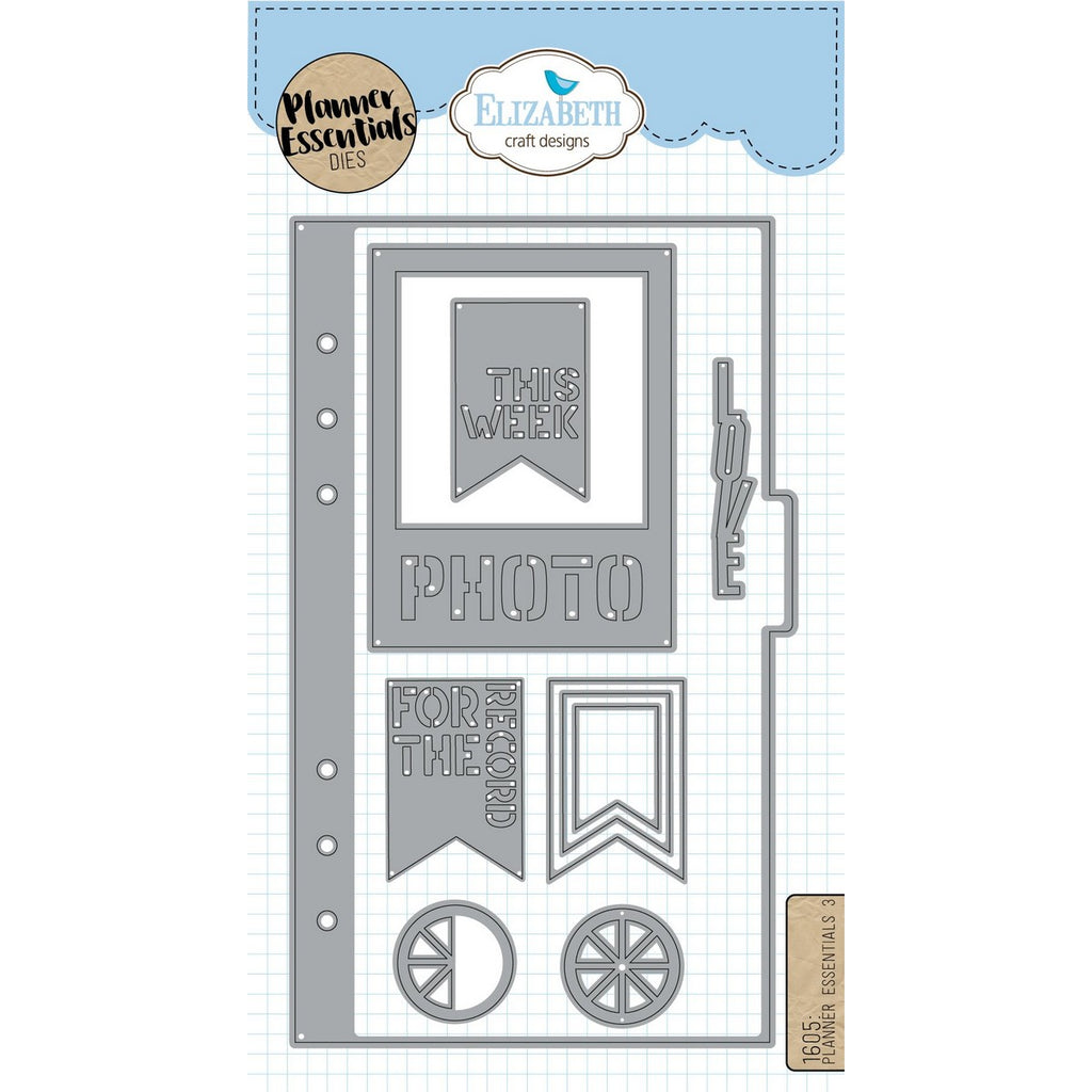 Elizabeth Craft Designs - Dies - Planner Essentials 3