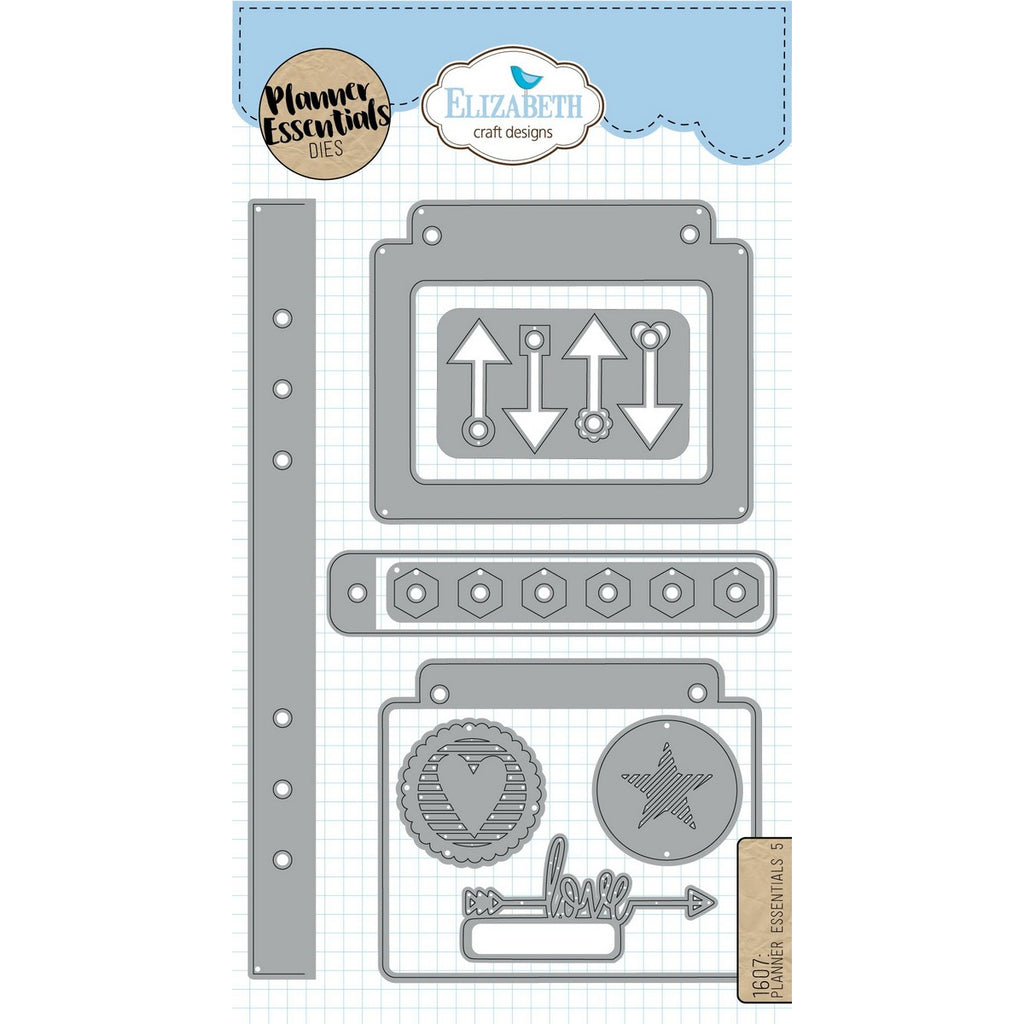 Elizabeth Craft Designs - Dies - Planner Essentials 5