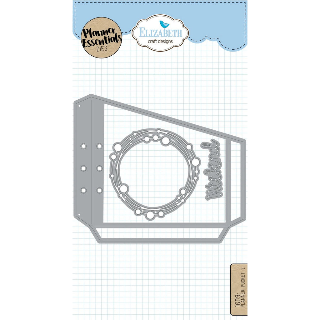 Elizabeth Craft Designs - Dies - Planner Pocket 2