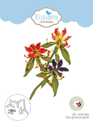 Elizabeth Craft Designs - Dies - Flame Lily