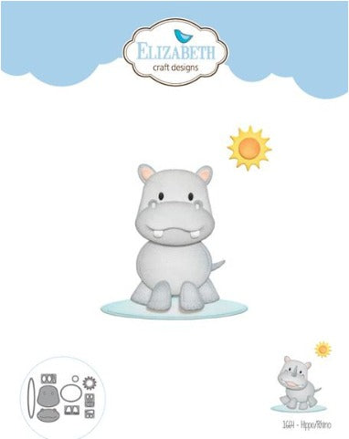 Elizabeth Craft Designs - Dies - Hippo/Rhino