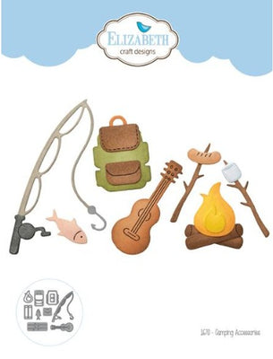 Elizabeth Craft Designs - Dies - Camping Accessories