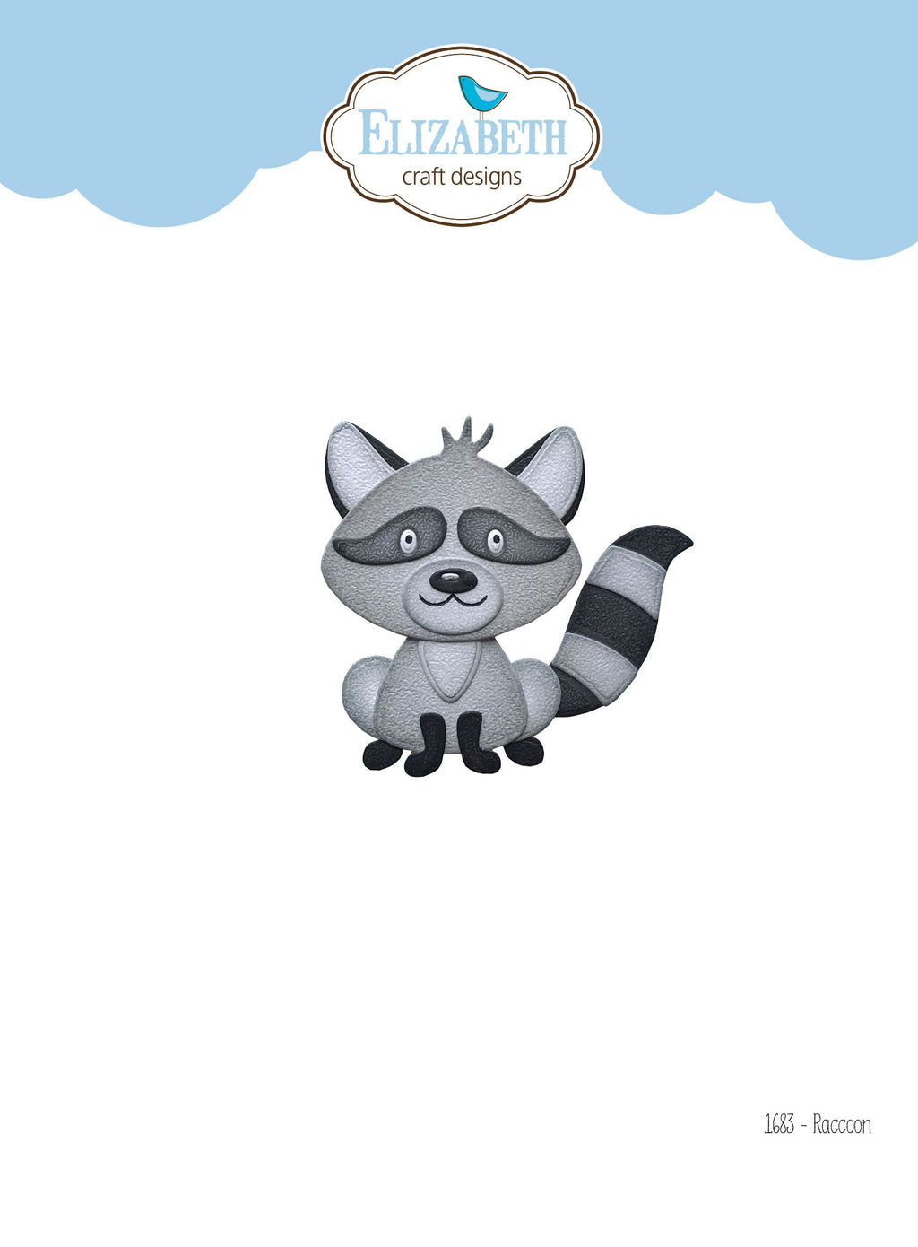 Elizabeth Craft Designs - Dies - Raccoon