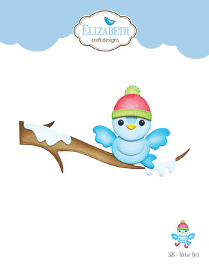 Elizabeth Craft Designs - Dies - Winter Bird
