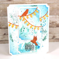 Elizabeth Craft Designs - Dies - Holiday Bird House