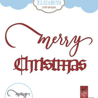 Elizabeth Craft Designs - Dies - Merry Christmas 3