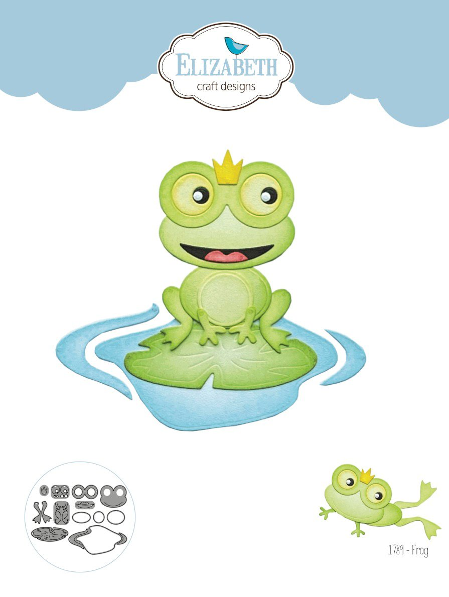 Elizabeth Craft Designs - Dies - Frog