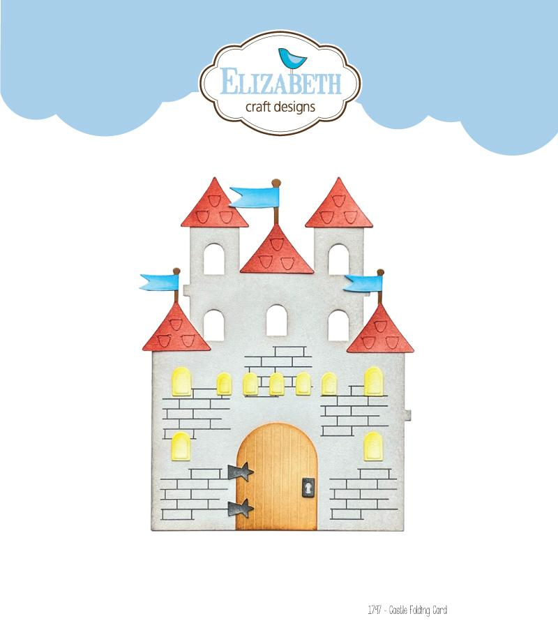 Elizabeth Craft Designs - Dies - Castle Folding Card