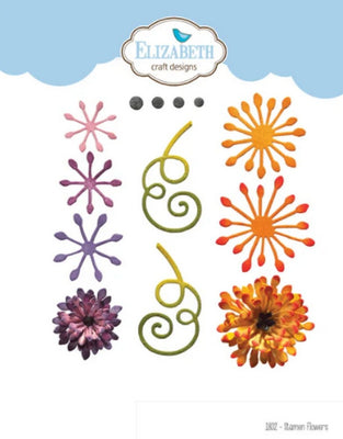Elizabeth Craft Designs - Stamen Flowers