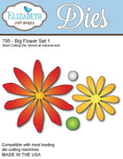 Elizabeth Craft Designs - Dies - Big Flower Set 1