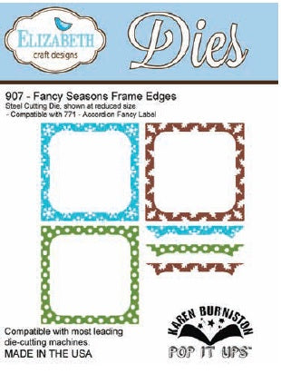 Elizabeth Craft Designs - Fancy Seasons Frame Edges