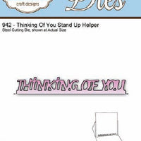 Elizabeth Craft Designs - Thinking Of You Stand Up Helper