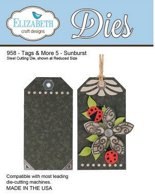Elizabeth Craft Designs - Tags & More 5 - Sunburst