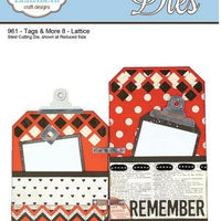 Elizabeth Craft Designs - Tags & More 8 - Lattice