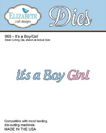 Elizabeth Craft Designs - It's a Boy/Girl