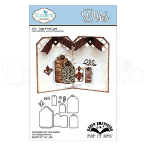 Elizabeth Craft Designs - Dies - Tags Pivot Cards
