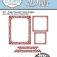 Elizabeth Craft Designs - Dies - Katie Flourish Frame