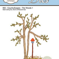 Elizabeth Craft Designs - CountryScapes - The Woods 1