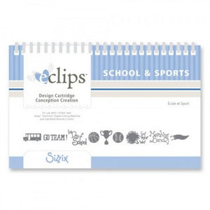 Sizzix Eclips Cartrdige - School & Sports