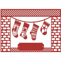 Trimcraft - First Edition Dies - Craft A Card - Stockings