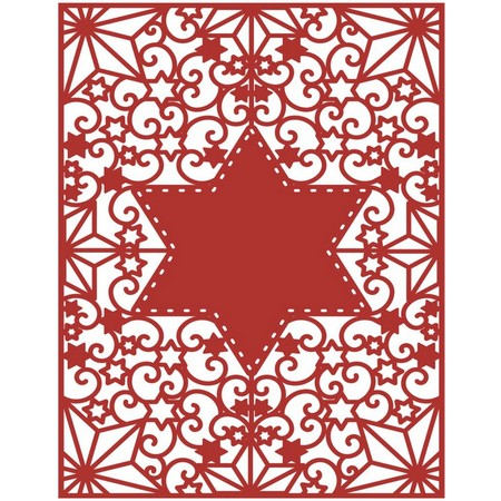 Trimcraft - First Edition Dies - Craft A Card - Star