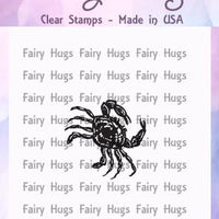 Fairy Hugs Stamps - Mini Crab