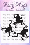 Fairy Hugs Stamps - Frog Set
