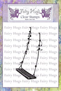 Fairy Hugs Stamps - Fairy Swing