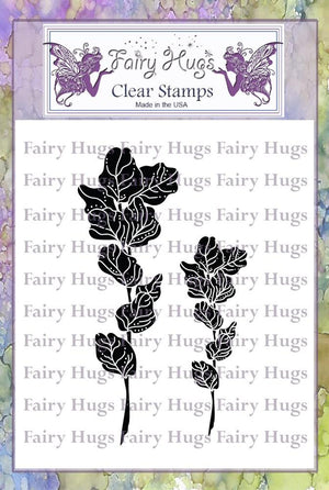 Fairy Hugs Stamps - Wild Leaves
