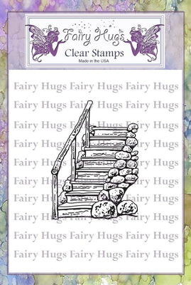 Fairy Hugs Stamps - Forest Steps
