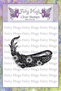 Fairy Hugs Stamps - Leafy Canoe