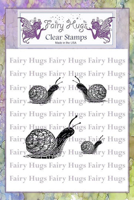 Fairy Hugs Stamps - Snail Family
