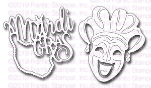 Frantic Stamper - Dies - Mardi Gras Celebration